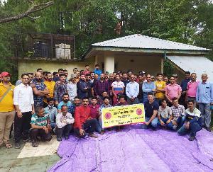 दाड़लाघाट : देव भूमि क्षत्रिय संगठन व देवभूमि स्वर्ण मोर्चा स्वर्ण आयोग गठन के लिए संयुक्त बैठक का आयोजन