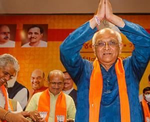 Bhupinder Patel is the new Chief Minister of Gujarat in BJP's shocking policy