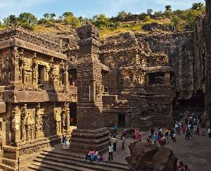 Ellora's Kailash Temple is amazing and supernatural