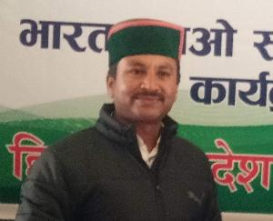 Rajgarh: Government failed to solve the problems of the people in Jan Manch - Dinesh Arya