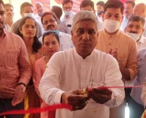 चिंतपूर्णी : विधायक बलबीर सिंह चौधरी ने राजस्व सदन का किया उद्घाटन