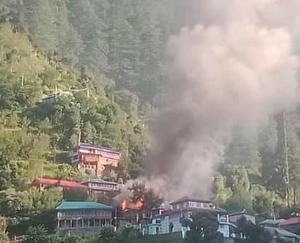 भावानगर : रामनी गाँव में घरों में लगी आग ,लाखों का नुकसान