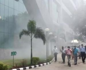 Fire broke out in the basement of CBI building on Lodhi Road