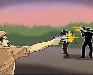 Noida: Four miscreants injured by police bullets during a major encounter