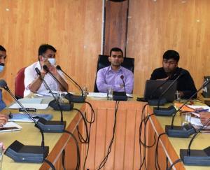 कुल्लू  : ग्रामीण विकास विभाग की समीक्षा बैठक आयोजित
