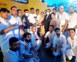 Kunihar: Organizing Friendship Cricket Competition by Press Club