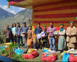 Kinnaur: Assistance to the victims of the horrific fire incident in Ramni