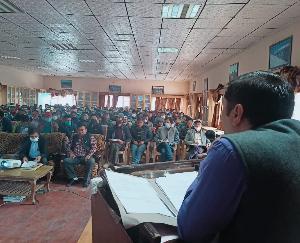 Kaza: Rehearsal for Panchayat elections concluded - SDM Mahendra Pratap Singh