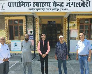 Sujanpur: People are not getting health benefits in regional hospital Junglebari