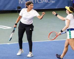 Sania Mirza won the first title of the year