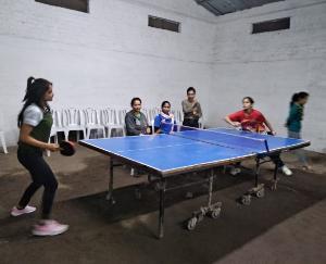 बडू साहिब मे इंटर कॉलेज टेबल टेनिस प्रतियोगिता का आयोजन