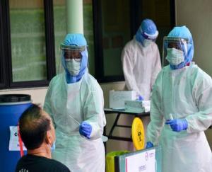 Hamirpur: 30 people turned corona positive in rapid antigen test