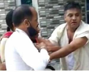 Hamirpur: Fight between two groups in Dib village of Jhaniyara Panchayat
