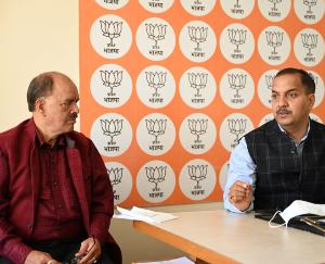 Shimla: BJP election committee meeting concluded, Ganesh Dutt appointed as election management committee chief