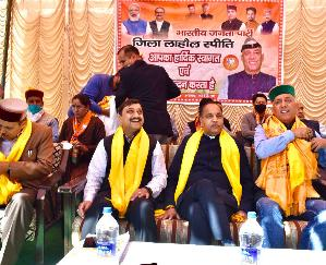 Congress has no issue, so it is seeking votes in the name of Virbhadra: CM Jai Ram Thakur