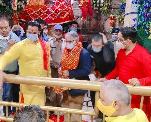 Jwalamukhi: Chief Justice of Patna High Court did Jwala Mata Darshan in Navratri