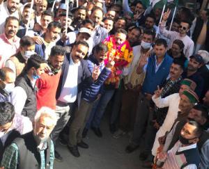 Contribution of Congress in the development of Navar: Rohit Thakur