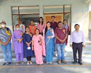 Jaswan-Pragpur: Program organized on the topic of stress free life in Dadasiba College