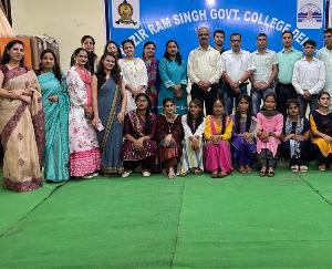 Kangra: Cultural program organized under Amrit Mahotsav in College Dehri