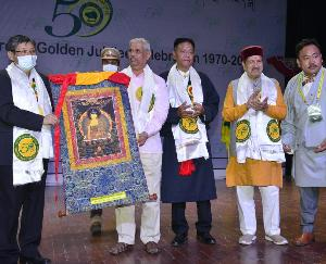 Kangra: Governor attended cultural program of Tibetan Youth Congress