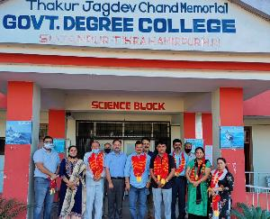 Hamirpur: New PTA executive formed in college Sujanpur Tihra