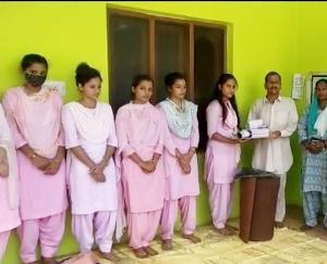 Indore: Ekal Foundation of India Sanch Nangalbhur distributed education material