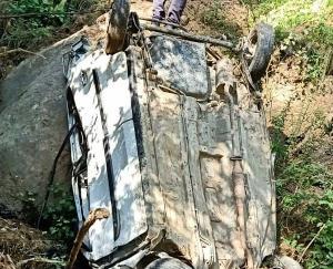 चौपाल में आल्टो हादसे का शिकार,3 की मौत 2 घायल