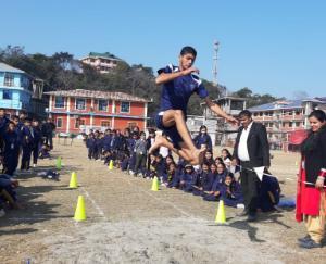 डीपीएस ढलियारा में आयोजित हुई दो दिवसीय खेल कूद प्रतियोगिता
