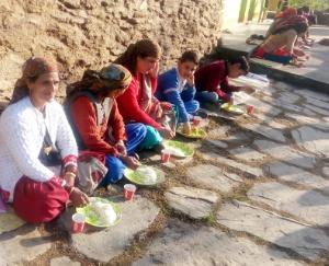 ग्राम पंचायत भण्डारनु में बेटी के जन्म पर मनाया गया उत्सव