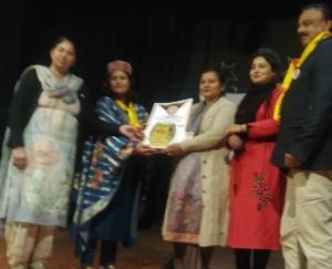 करसोग की भाषा अध्यापिका सुनीता को अमृतसर में मिला राष्ट्रीय पुरस्कार