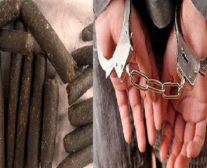 लहड़ा के अजय कुमार से 86.420 ग्राम चरस बरामद, केस दर्ज, गिरफ़्तार