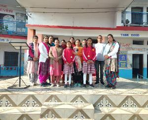 समीरपुर स्कूल की छात्राओं ने फिर चमकाया स्कूल का नाम