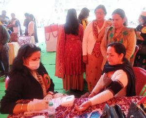 निशुल्क मेडिकल कैम्प में 410 लोगों ने करवाया स्वास्थ्य परिक्षण