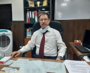 डा. आर सी ठाकुर ने संभाला नेरचौक मेडिकल कॉलेज के प्रिंसिपल का कार्यभार