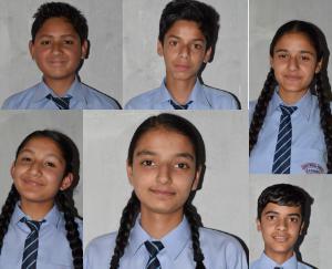 रूट मॉडल पब्लिक के बच्चों ने दसवीं की परीक्षा में खंड स्तर में गाड़े झंडे