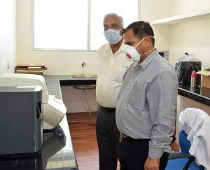 मेडिकल कॉलेज नाहन में कोविड-19 परीक्षण प्रयोगशाला का हुआ शुभारम्भ