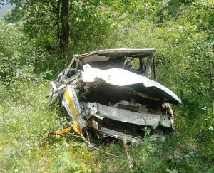 बोलेरो कैम्पर दुर्घटनाग्रस्त, तीन की मौत