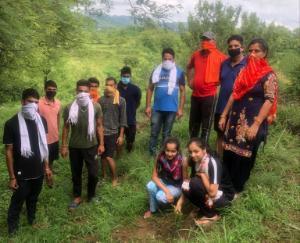 भाजयुमो सुजानपुर मंडल ने किया पौधरोपण सप्ताह का समापन