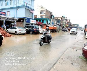 Drains-blocked-by-little-rain-water-entered-inside-houses