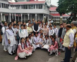 रावमापा सोलन की 'युवा संसद' ने देखी विधानसभा सत्र की कार्यवाही