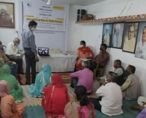 hfcl-and-helpageindia-organized-a-health-camp