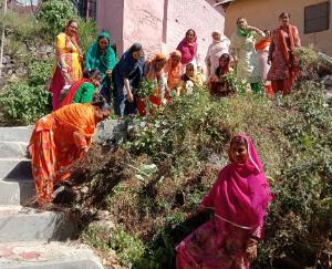 mahila-mandal-kotla-organised-cleanliness-campaign