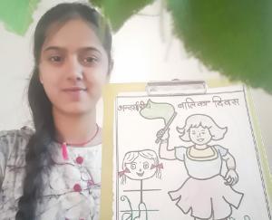 international-girl-child-day-celebrated-in-dhundhan