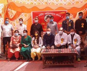 भगत सिंह युवा क्लब ने रक्तदान शिविर किया आयोजित