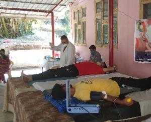 सोलन अस्पताल में पूरी होगी रक्त की मांग, 25 लोगों ने किया महादान