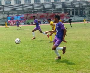 हमीरपुर के डिग्री कॉलेज में फुटबॉल चैंपियनशिप का आगाज़