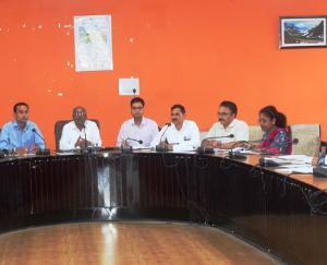 डेंगू और स्क्रब टाईफस जैसी जानलेवा बीमारियों से लड़ने के लिए बैठक का आयोजन