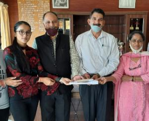 7770-rupees-donated-by-the-Central-Student-Organization