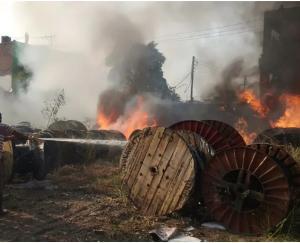 fire-in-a-company-in-baddi