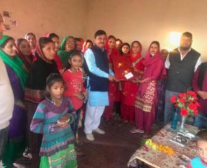 MLA-Rajendra-Rana-inaugurated-Mahila-Mandal-Bhavan